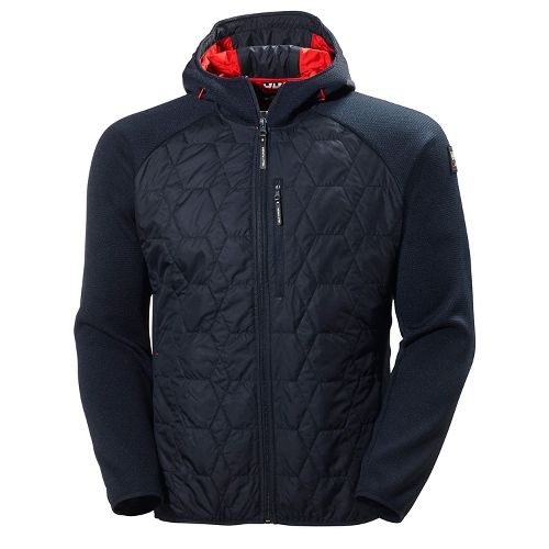 Mens Helly Hansen Shore Hybrid Insulator Cold Weather Jackets - Navy S