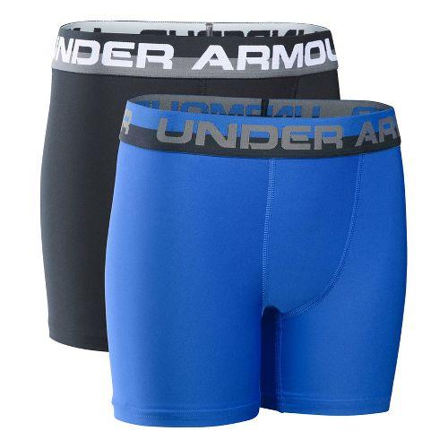 Under Armour Boys O-Series 2-Pack Boxer Brief Underwear Bottoms - Ultra Blue YXS