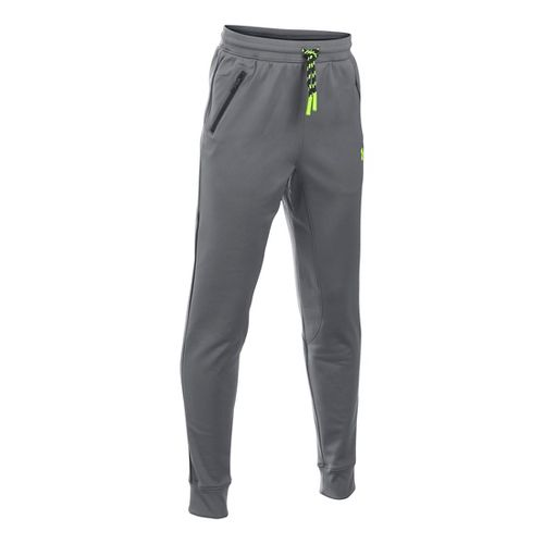 Under Armour Boys Pennant Tapered Pants - Graphite YXS