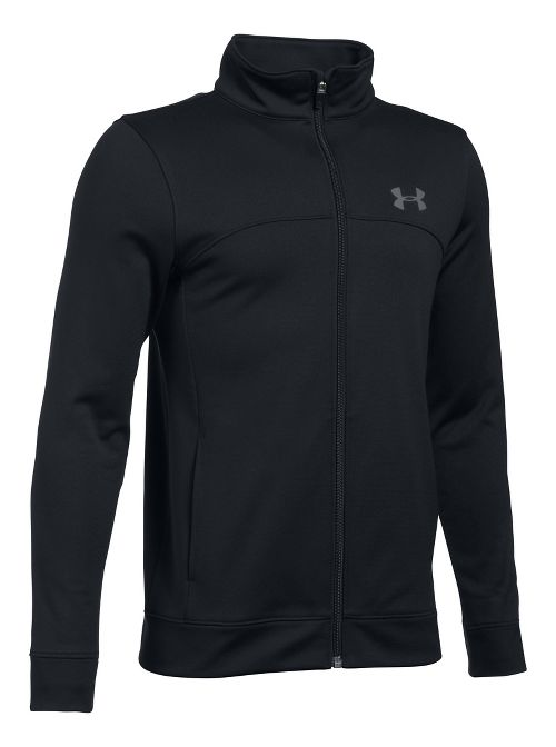 Under Armour Pennant Warm-Up Running Jackets - Black YXS
