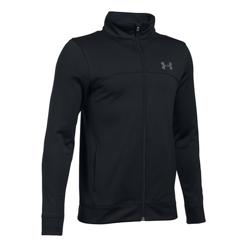Under Armour Pennant Warm-Up Running Jackets - Black YS