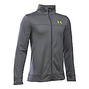 Under Armour Pennant Warm-Up Running Jackets - Graphite YL