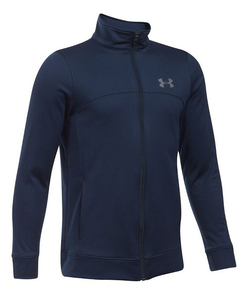 Under Armour Pennant Warm-Up Running Jackets - Navy/Graphite YL