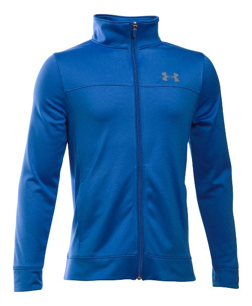 Under Armour Pennant Warm-Up Running Jackets - Ultra Blue YM
