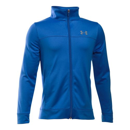 Under Armour Pennant Warm-Up Running Jackets - Ultra Blue YXL