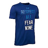 Under Armour Boys Respected by All T Short Sleeve Technical Tops
