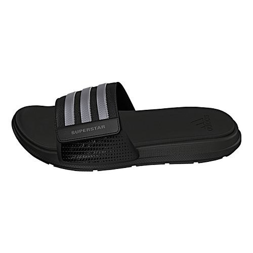 Mens adidas Superstar 4G Sandals Shoe - Core Black/Silver 5