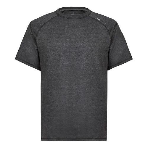 Mens Tasc Performance Carrollton T Heather Short Sleeve Technical Tops - Black Heather XL