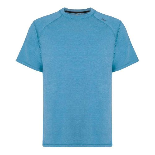 Mens Tasc Performance Carrollton T Heather Short Sleeve Technical Tops - Blue Heather S