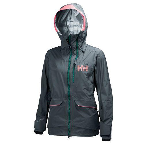 Womens Helly Hansen Aurora Shell Cold Weather Jackets - Rock M