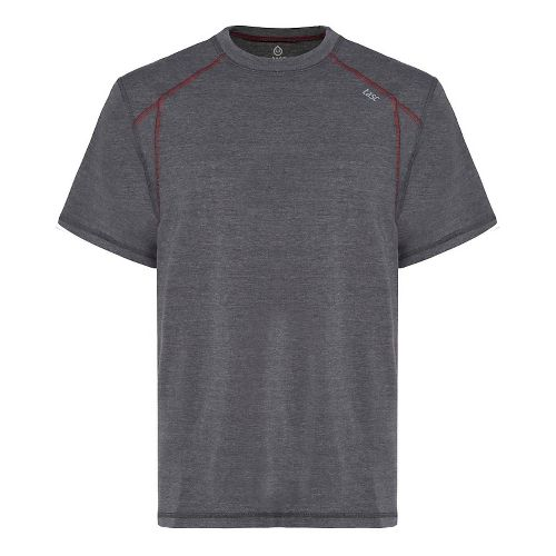 Mens Tasc Performance Circuit T Heather Short Sleeve Technical Tops - Black Heather L