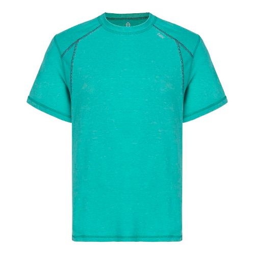 Mens Tasc Performance Circuit T Heather Short Sleeve Technical Tops - Maldives Heather L