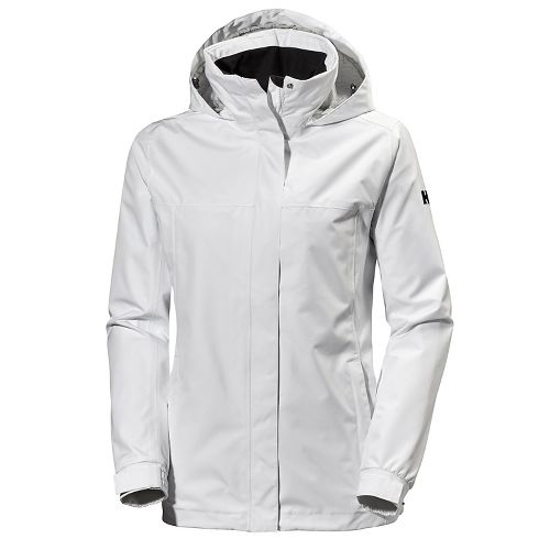 Womens Helly Hansen Aden Cold Weather Jackets - White XS