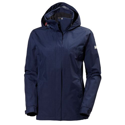 Womens Helly Hansen Aden Cold Weather Jackets - Evening Blue XXL