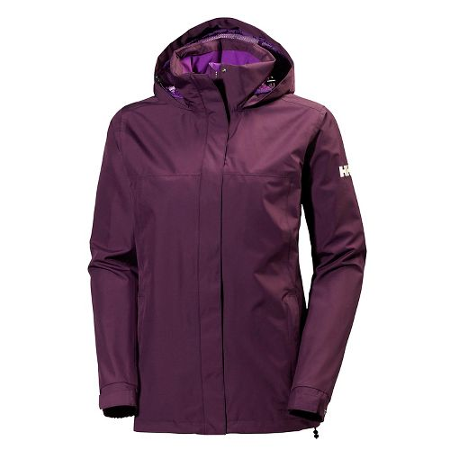 Womens Helly Hansen Aden Cold Weather Jackets - Dark Violet S