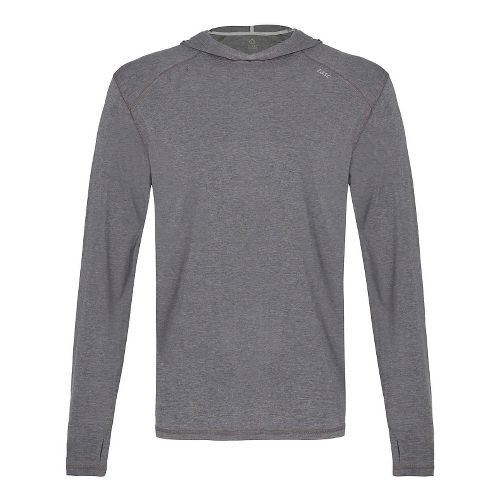 Mens Tasc Performance Coastline Heather Half-Zips & Hoodies Technical Tops - Heather Grey M