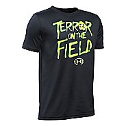 Under Armour Boys Terror On The Field T Short Sleeve Technical Tops