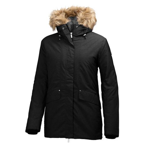 Womens Helly Hansen Eira Cold Weather Jackets - Black XL