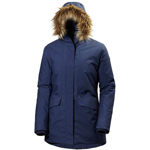 Womens Helly Hansen Eira Cold Weather Jackets - Evening Blue M