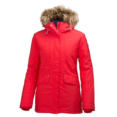Womens Helly Hansen Eira Cold Weather Jackets - Flag Red M