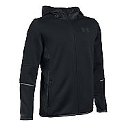 Under Armour Swacket Full-Zip Cold Weather Jackets - Black YS