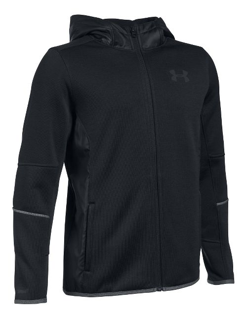 Under Armour Swacket Full-Zip Cold Weather Jackets - Black YM