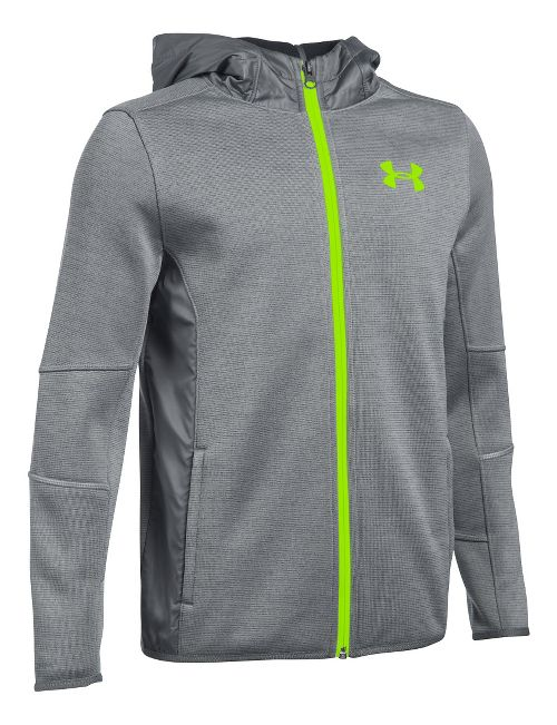 Under Armour Swacket Full-Zip Cold Weather Jackets - Graphite YS