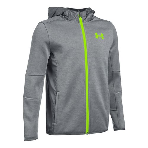 Under Armour Swacket Full-Zip Cold Weather Jackets - Graphite YL