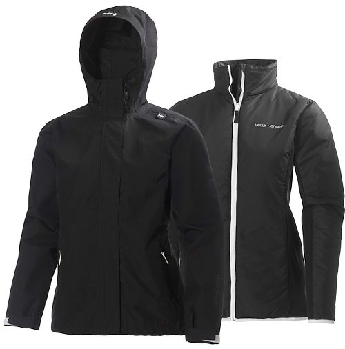 Womens Helly Hansen Squamish CIS Cold Weather Jackets - Black XL