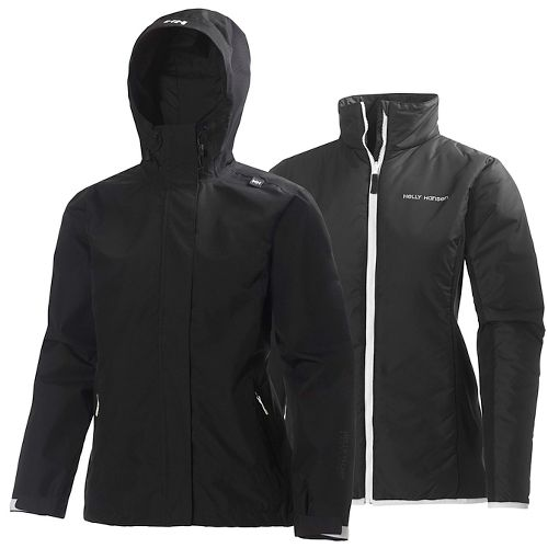 Womens Helly Hansen Squamish CIS Cold Weather Jackets - Black S