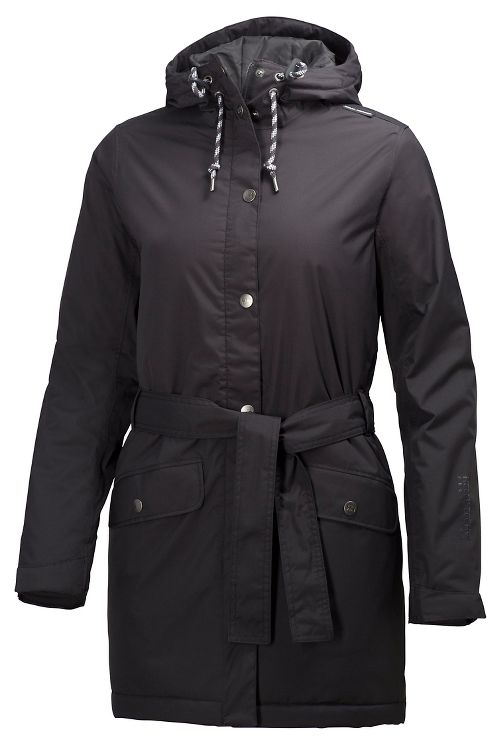 Womens Helly Hansen Lyness Insulated Coat Cold Weather Jackets - Black S