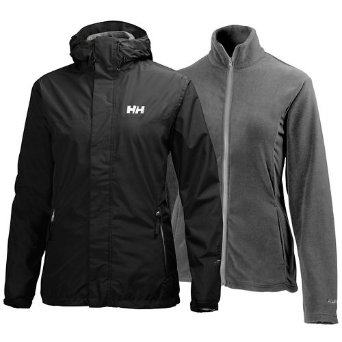 Womens Helly Hansen Hustad CIS Cold Weather Jackets - Black L