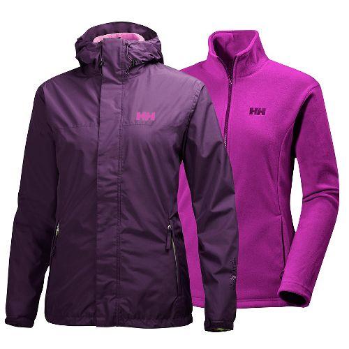 Womens Helly Hansen Hustad CIS Cold Weather Jackets - Dark Violet S