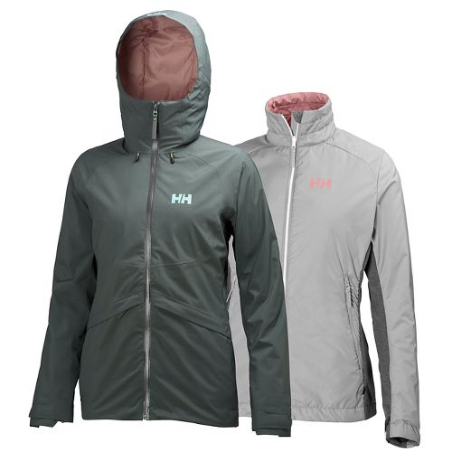 Womens Helly Hansen Approach CIS Cold Weather Jackets - Rock XS