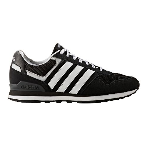 Mens adidas 10K Casual Shoe - Black/White 10.5
