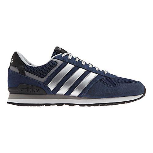Mens adidas 10K Casual Shoe - Navy/Silver 12.5