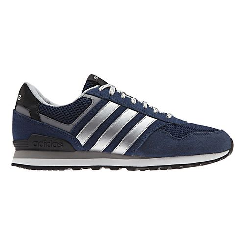 Mens adidas 10K Casual Shoe - Navy/Silver 9.5