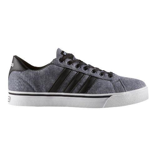Mens adidas Cloudfoam Super Daily Casual Shoe - Core Black/Black 12.5