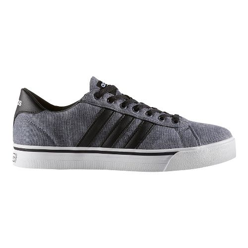 Mens adidas Cloudfoam Super Daily Casual Shoe - Core Black/Black 6.5
