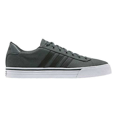 Mens adidas Cloudfoam Super Daily Casual Shoe - Ivy/Black 10.5