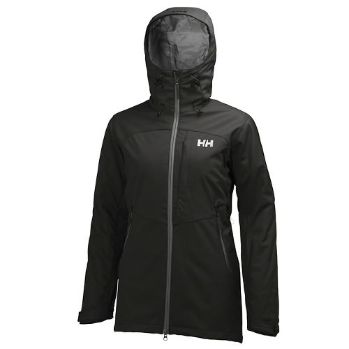Womens Helly Hansen Paramount Ins Softshell Cold Weather Jackets - Black L