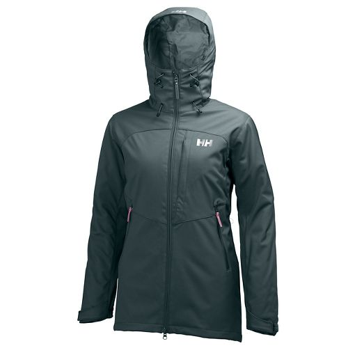 Womens Helly Hansen Paramount Ins Softshell Cold Weather Jackets - Rock S