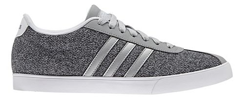 Womens adidas Courtset Casual Shoe - Grey/Silver 10