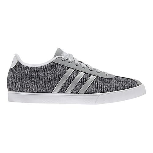 Womens adidas Courtset Casual Shoe - Grey/Silver 6.5