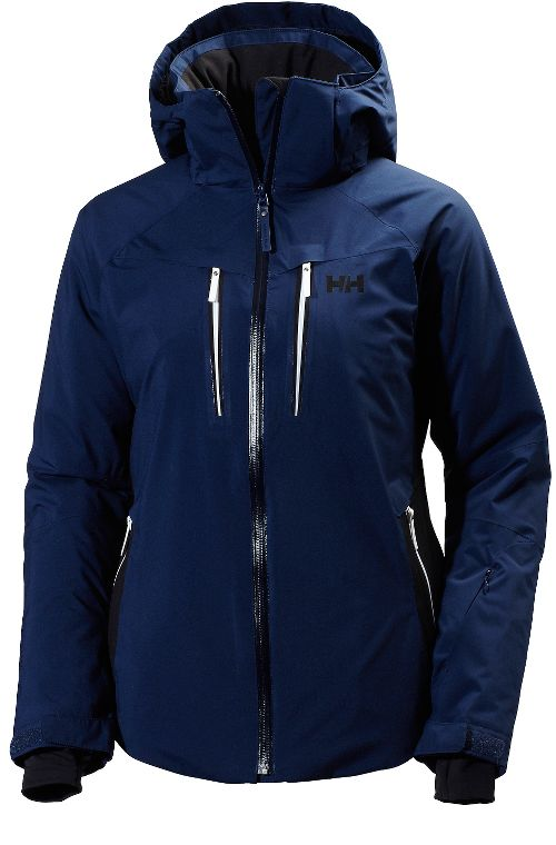 Womens Helly Hansen Motion Stretch Cold Weather Jackets - Evening Blue M