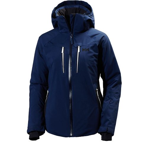 Womens Helly Hansen Motion Stretch Cold Weather Jackets - Evening Blue L