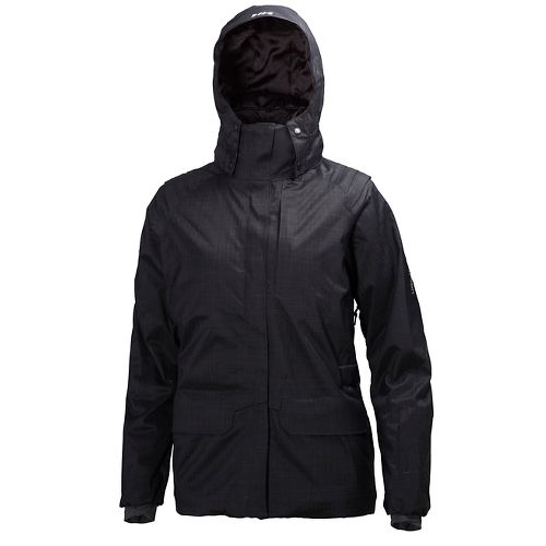 Womens Helly Hansen Blanchette Cold Weather Jackets - Black XS