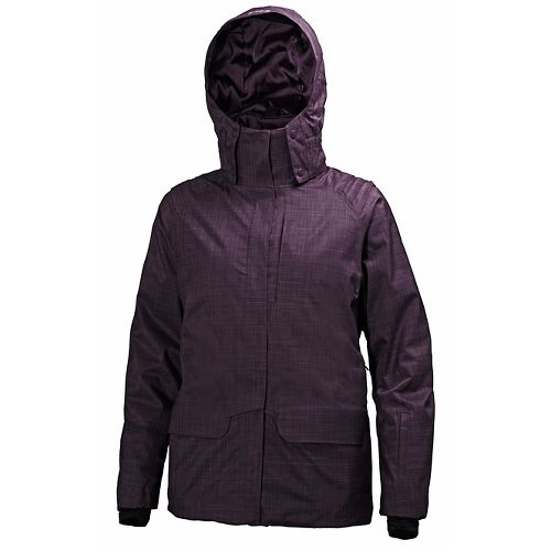 Womens Helly Hansen Blanchette Cold Weather Jackets - Dark Violet M