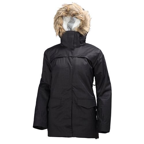 Womens Helly Hansen Sophie Cold Weather Jackets - Black L