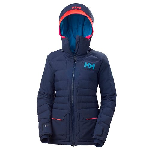 Womens Helly Hansen Cordelia Cold Weather Jackets - Evening Blue M
